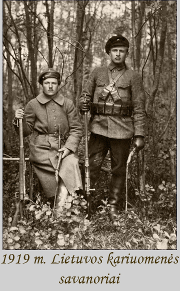 1919 savanoriai miske
