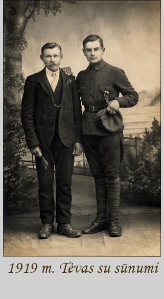 1919 tevas su sunumi