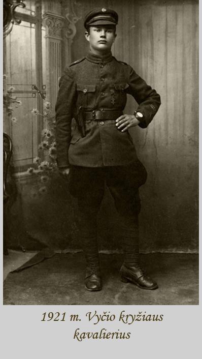 vycio kryziaus kavalierius 1921